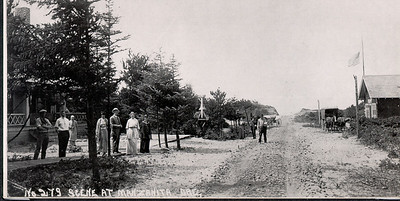 Laneda Avenue remained unpaved almost 100 years until the early 21st Century.
