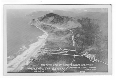 During the 1920s, business interests in Portland and along the north coast argued for a new road they called Short Route to the Shore. In the 1930s, the Highway Department finally settled on the Wolf Creek route, the road we know today as U S 26, The Sunset Highway.