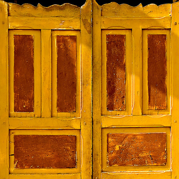 Door of a traditional Maracaibo house