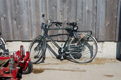 Rolf Penterman's mode of transportation around the farm.