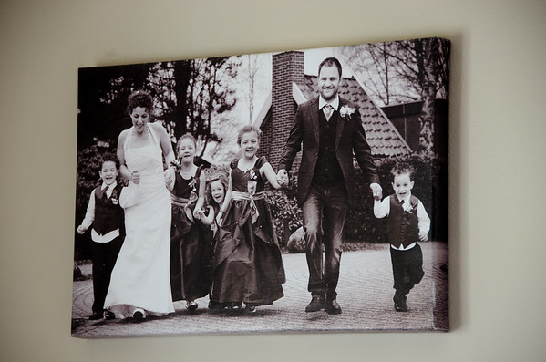 Marieke Penterman and her family in Holland
