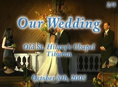 Our wedding (part 2/4)