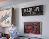 Old signs from Marlow