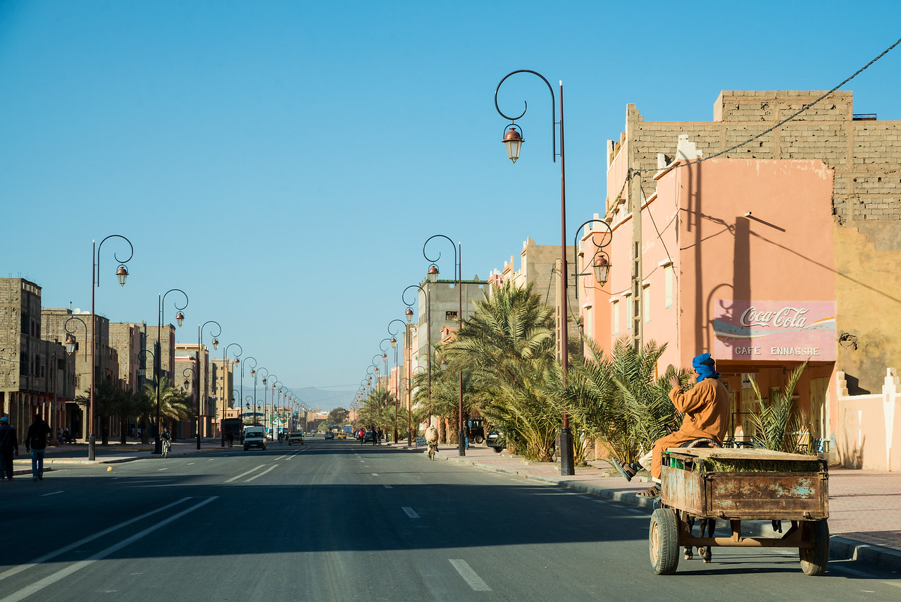 Morocco town