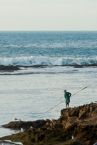 Fisherman in Essaouira