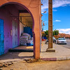 Morocco desert town