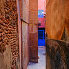 Marrakech narrow alley