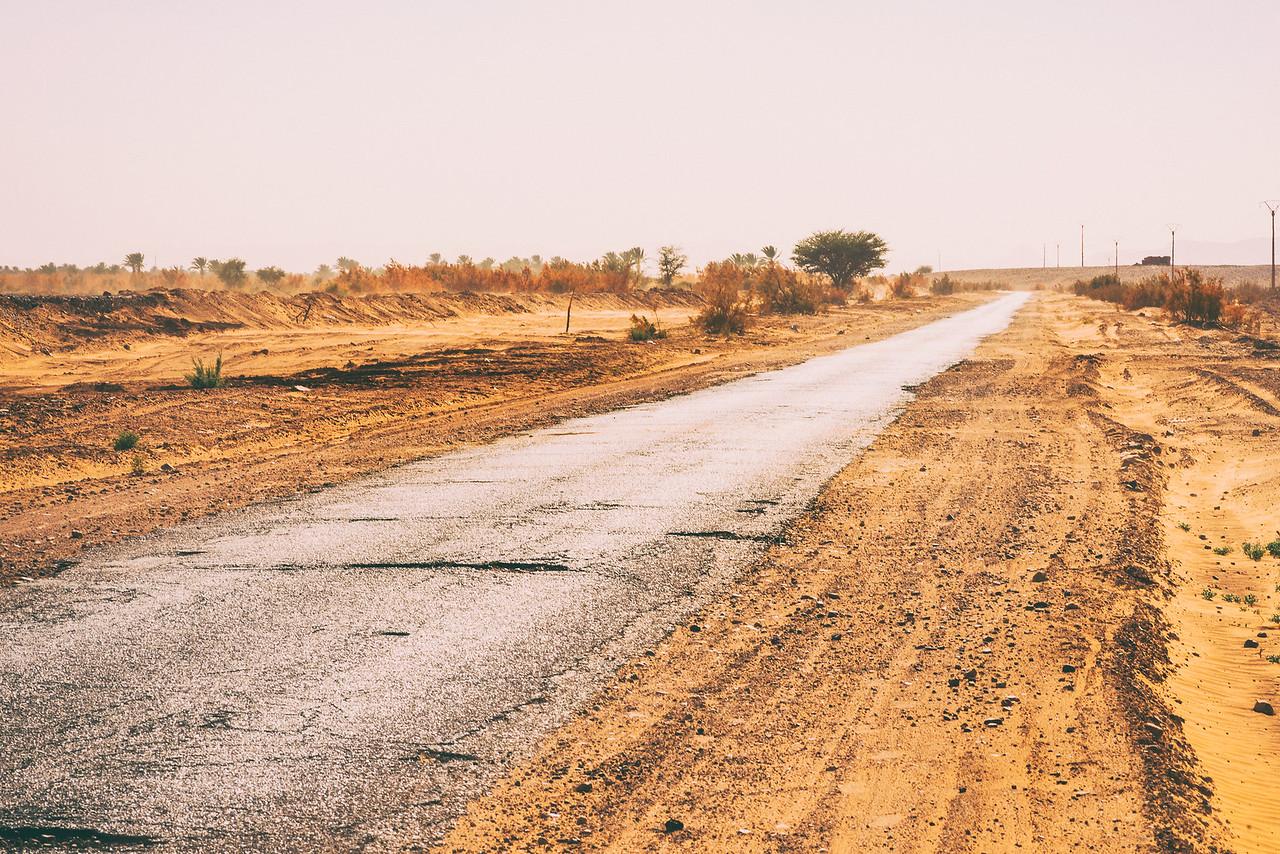 The road to Sahara