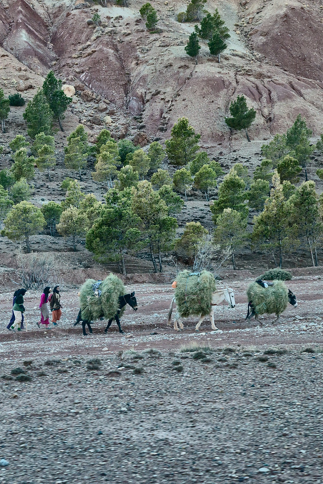Morocco mountain area