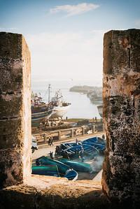 Essaouira harbour