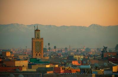 Marrakech dusk