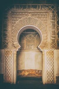 Morocco old door