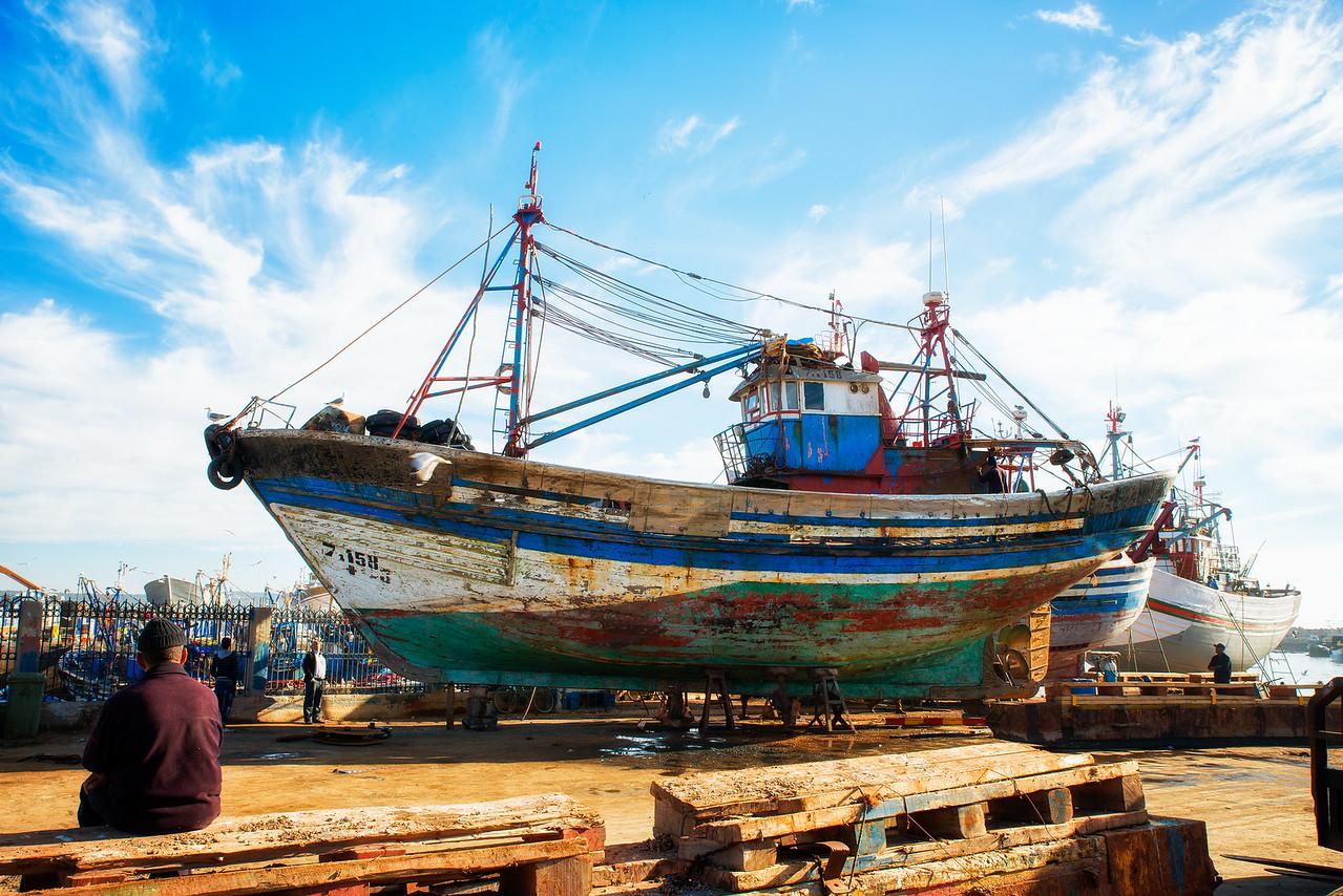 Marocco harbour