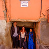 Way to the riad