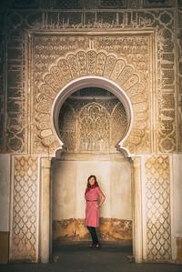 Hanna in Marrakech