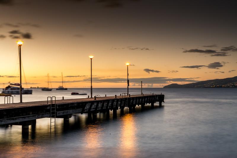 Martinique Sunset Pier 2017