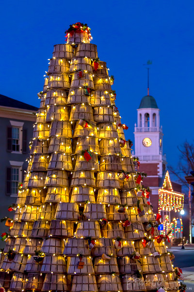 Crab Basket Christmas Tree - Cambridge, Maryland