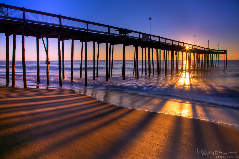 Ocean City Pier at Sunrise