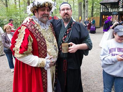 Alex meets the King
