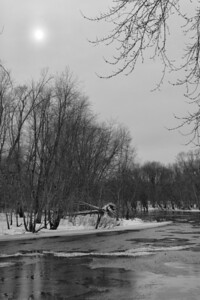 20130217.  Concord River in Minute Man NHP.