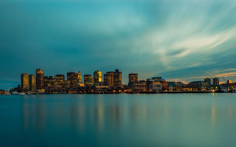 *Boston Skyline Long Exposure* Tonight we headed to East Boston, to a spot I wanted to get for sunset. This spot definitely had some awesome views. The sun set a little further to the right then I expected but still got some nice color.  Tonight we headed to East Boston, to a spot I wanted to get for sunset. This spot definitely had some awesome views. The sun set a little further to the right then I expected but still got some nice color.   Canon 5D MK III Canon 17-40mm f/4 L 96 Seconds f/22 ISO 18 LEE Filter - http://smu.gs/NWwOmI  GPS: 42.369464,-71.044583