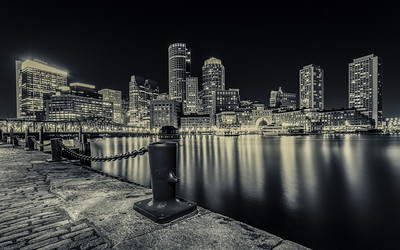 A Dark Boston Night