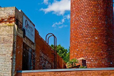 An old abandoned factory by Bridge St.