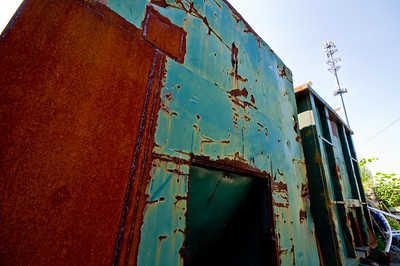 Rather vivid rust