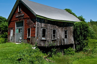 An old barn on Ely Road