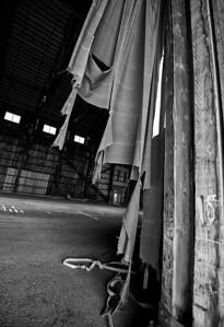 Curtains  Lumber Mill, McCloud, CA