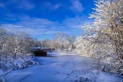 Bridge over the Mystic River