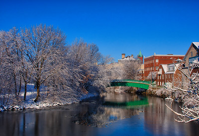 Medford-Mystic River-Winter-Snow