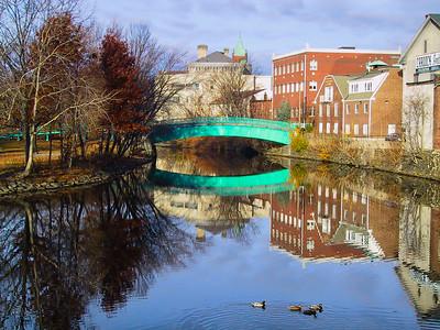Bridge over the Mystic River John Hand