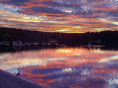 Mystic Lake Sunset