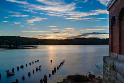 Sunset on the Upper Mystic Lake Medford, MA