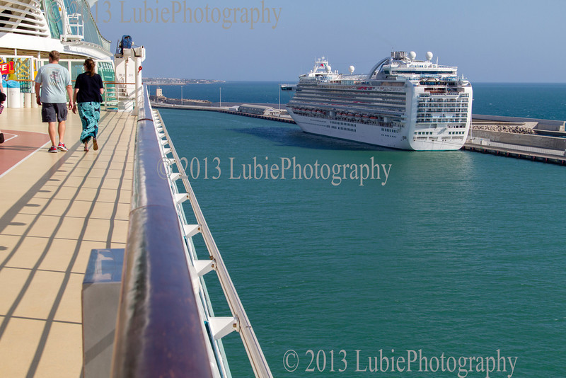 Civitavecchia Harbour, Italy