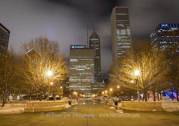 Chicago - Mellinium Park at Night