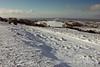 Snow on the Mendips towards Glastonbury