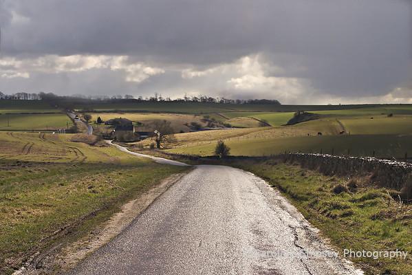 Kingdown near Charterhouse Mendip Landscape