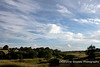 Clouds in landscape Mendip Landscape