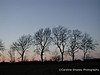 Mendip sky line at dusk Mendip Landscape