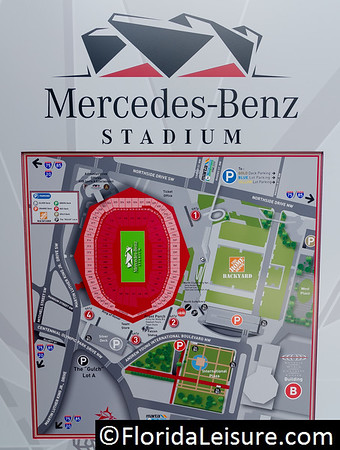 Mercedes Benz Stadium - Atlanta