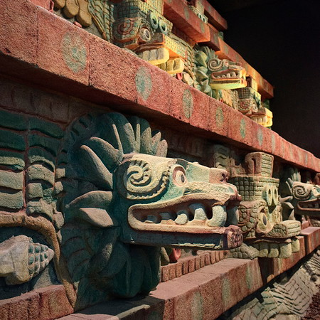 Mexico National Anthropology Museum