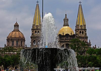 Cathedral Centro Histórico de Guadalajara.