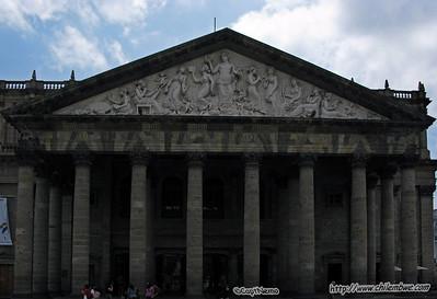 Degollado Theatre Centro Histórico de Guadalajara.
