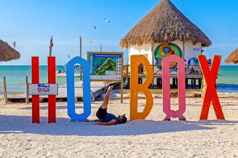 Holbox Sign