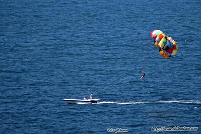 Para sailing  , Puerto Penasco, Mexico.