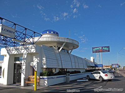 Space Age Hotel and resturant.