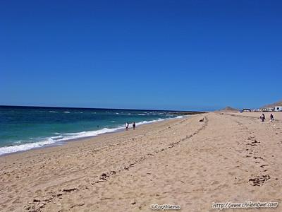 El Mirador beach, Puerto Penasco, Mexico.