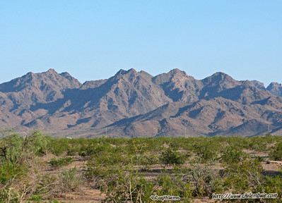 View from Gila Bend.